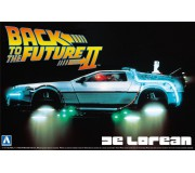 AOSHIMA 11867 Kit 1/24 DeLorean Back to the Futur Part 2