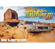 AOSHIMA 11874 Kit 1/24 DeLorean Back to the Futur Part 3