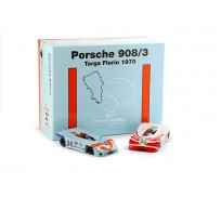 NSR SET09 2/2 Poker Aces Porsche 908/3 Targa Florio 1970 - SPECIAL EDITION Set 2 of 2