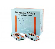 NSR SET09 1/2 Poker Aces Porsche 908/3 Targa Florio 1970 - SPECIAL EDITION Set 1 of 2