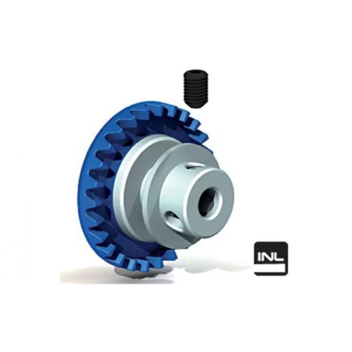 "Ninco 80238 Crown Prorace Inline 26 teeth blue 3/32"""