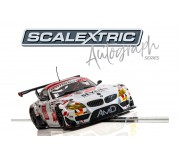 Scalextric C3848AE Autograph Series BMW Z4 GT3 (Team AMD) - Lee Mowle - Special Edition