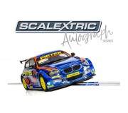 Scalextric C3914 Autograph Series BMW Series 1 NGTC - Andy Jordan - Special Edition