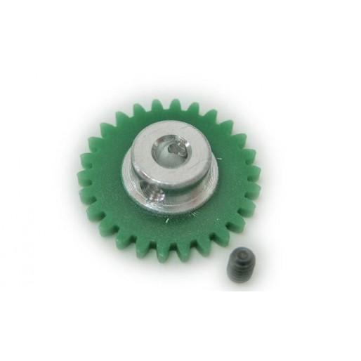 """Ninco 80251 Crown Xgear Anglewinder 26 teeth green 3/32"""""""