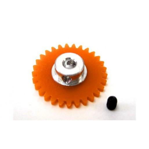 Ninco 80252 Crown Xgear Anglewinder 29 teeth orange 3/32""