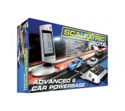Scalextric C7042 Digital Advanced Powerbase 6 Voitures