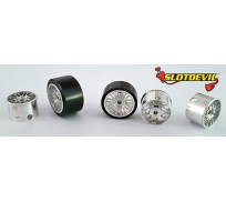 Slotdevil 2008161123 Jante Clubsport BBS 15x16x11mm x2