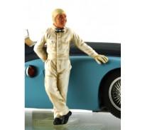 LE MANS miniatures Figure Jean-Pierre Wimille