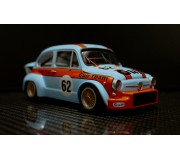 "TTS FIAT ABARTH 1000 TCR Gr.2 n.62 ""Gulf Team"" Edition"