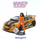 WASP Grid girl