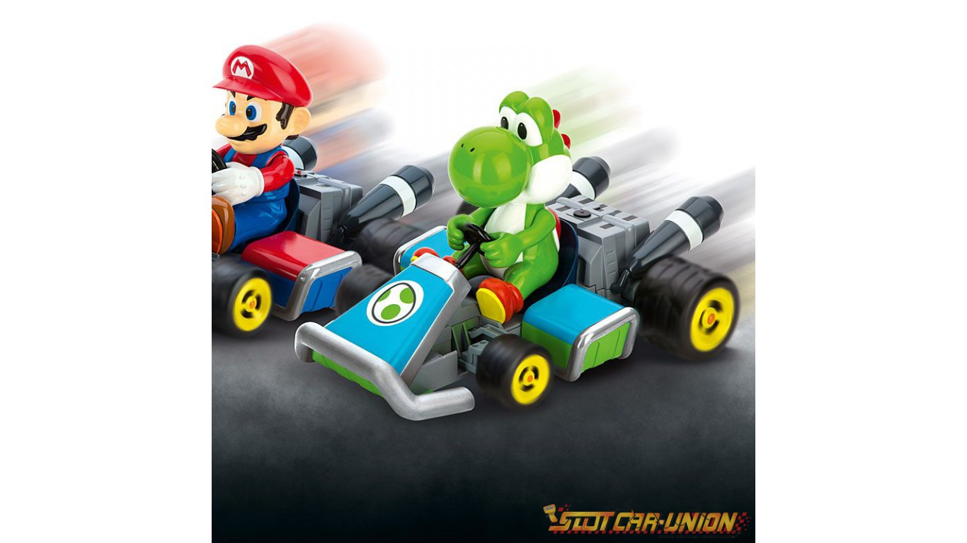 carrera rc mario kart 7 yoshi slot car union. Black Bedroom Furniture Sets. Home Design Ideas