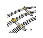 Proses PT-N-01 Outil de Piste Parallèle Ajustable Echelle N