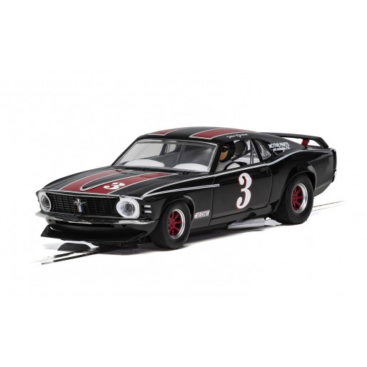 Scalextric C4014 Ford Mustang Trans Am 1972 John Gimbel
