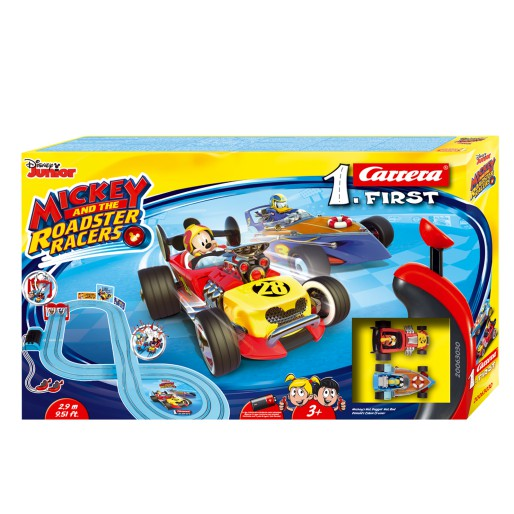 Carrera FIRST 63030 Mickey and the Roadster Racers