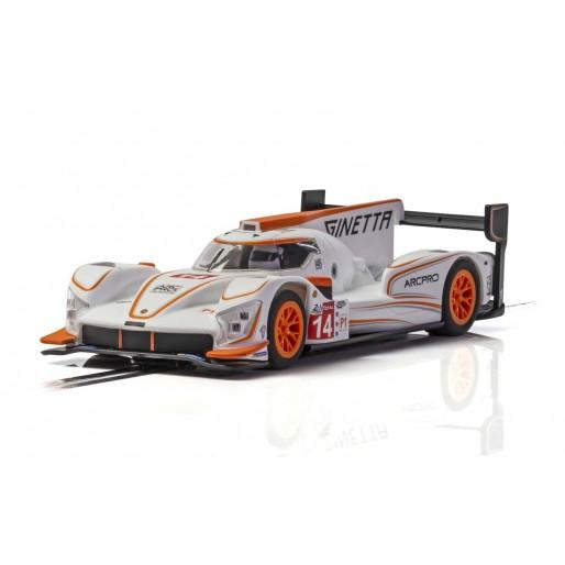 Scalextric C4061 Ginetta G60-LT-P1 No 14 - White/Orange
