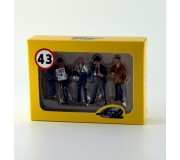 LE MANS miniatures Set of 4 Team managers