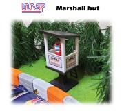 WASP Marshall hut - élevée