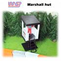 WASP Marshall hut - raised