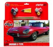 Airfix Jaguar E-Type Coffret de Départ 1:32