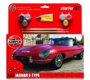 Airfix Medium Starter Set Jaguar E-Type 1:32
