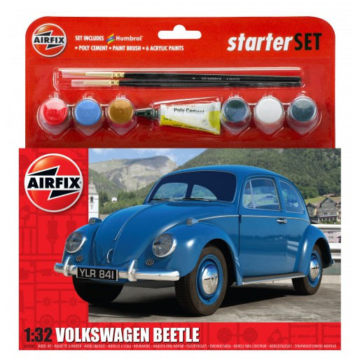 Airfix A55207 VW Beetle Starter Set 1:32