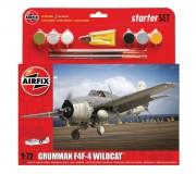 Airfix Grumman F4F-4 Wildcat Coffret de Départ 1:72