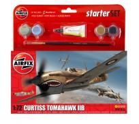 Airfix Curtiss Tomahawk IIB Coffret de Départ 1:72