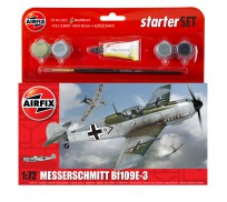 Airfix Messerschmitt Bf109E-3 Coffret de Départ 1:72
