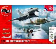 Airfix RAF Centenary Gift Set - Camel/Spitfire I/Typhoon