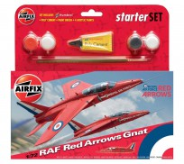 Airfix RAF Red Arrows Gnat Coffret de Départ 1:72