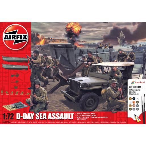 Airfix Coffret Cadeau D-Day 75th Anniversary Sea Assault