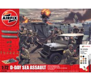 Airfix Coffret Cadeau D-Day 75th Anniversary Sea Assault
