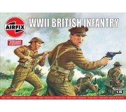 Airfix Vintage Classics - WWII British Infantry N. Europe 1:76