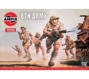 Airfix Vintage Classics - WWII British 8th Army
