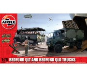 Airfix Bedofrd QLT And Bedford QLD Trucks 1:76