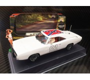 Pioneer P026-DS Dodge Charger 1969, White General Lee 'Dealer Special'