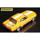 Pioneer P065 Mustang Notchback 1968 No.20, Metallic Yellow 'Bob Kramer'
