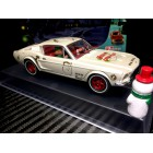 Pioneer P071 Mustang 390 GT Santa's 'Stang, Buttermilk White 2018 Christmas Edition