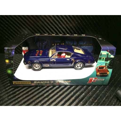 Pioneer P072 Mustang 390 GT Santa's 'Stang, Tinsel Blue 2018 Christmas Edition
