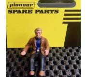 Pioneer FD201331 Figurine Pilote Steve McQueen (Décoré, Style Bullitt)