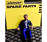 Pioneer FD201337 Figurine Pilote Peinte, (Style General Grant), Chemise Blanche, Cravate