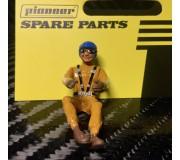 Pioneer FD201545 Painted Driver Figure, Blue Helmet, Orange Suit