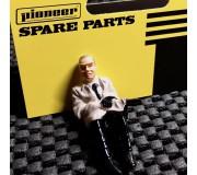 Pioneer FP201501 Figurine Passager Peinte, Hit Man avec pistolet