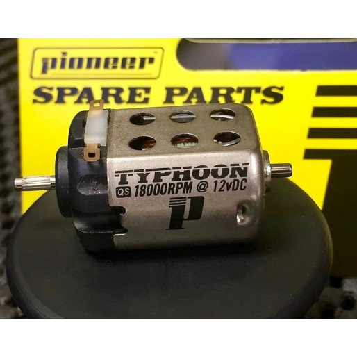 Pioneer MT202601 18K QS TYPHOON Motor (splined shaft)