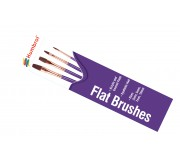 Humbrol AG4305 Flat Brush Pack