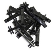 Carrera GO!!! 88111 Clips de Fixation de Rails x15