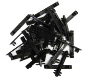 Carrera GO!!! 88185 Clips de Fixation de Rails x35