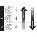 Kyosho Dslot43 DSP4011 Gear set (0820 Standard)