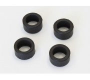 Kyosho Dslot43 DSP4018 D-Type Rear Tires set (15/10-80) LP640 x4