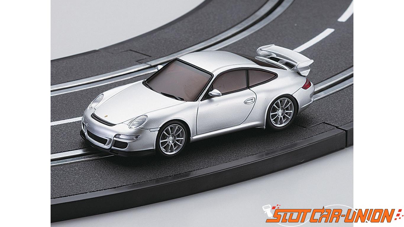 kyosho dslot43 porsche 911 gt3 silver slot car union. Black Bedroom Furniture Sets. Home Design Ideas